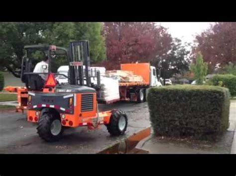 home depot delivery truck youtube