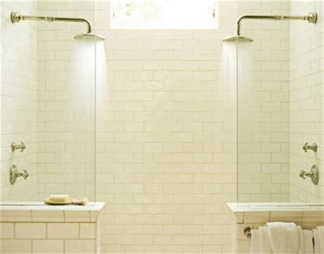 i hope they serve beer in hell bathroom scene two shower heads bathroom transitional with accent wall