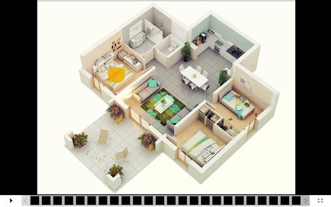plan layout of house 3d house design android apps on google play