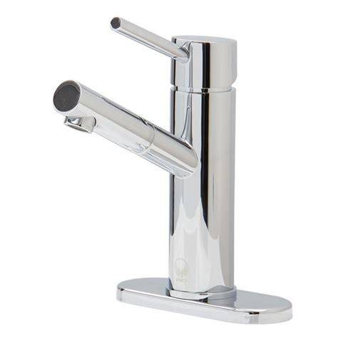 Vigo Bathroom Faucets Vigo Noma Single Single Handle Bathroom Faucet In Chrome With Deck Plate Vg01009chk1 The