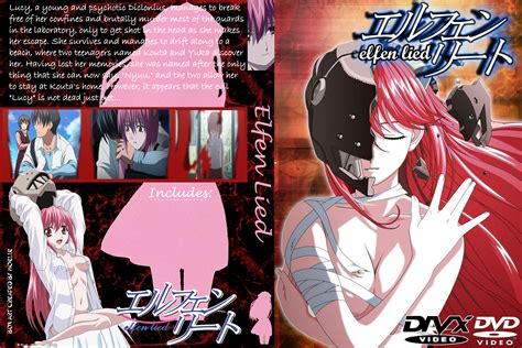 elfen lied buy elfen lied dvd cover by moelleuh on deviantart