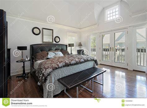 Bedroom Bedroom Balcony Design Ideas Bedroom Wall Master Bedroom In Luxury Home With Balcony Stock Photo