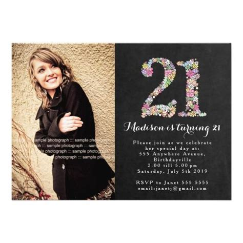Design Your Own Home Addition Free by 21st Birthday Party Invitations For Girls Cloveranddot Com