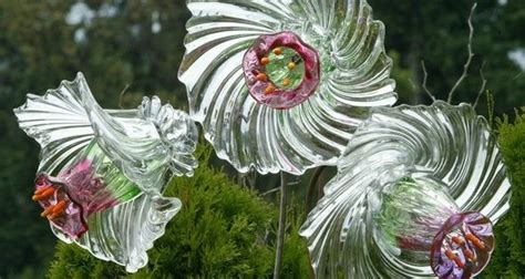 Diy Glass Garden Flowers Upcycled Wonders Upcycling Ideas Creative Reuse And Diy Projects Page 5 Of 49
