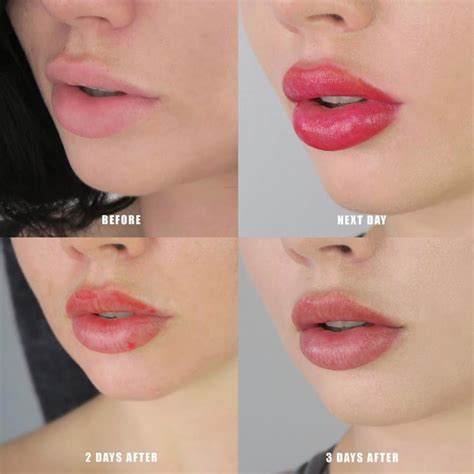 tattooed lips lip blush 101 pucker up that pout tattoodo