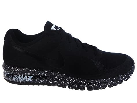 black and white athletic shoes new mens nike air max sequent running shoes trainers black