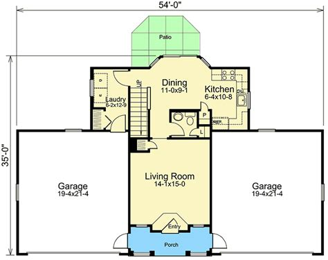 car floor plan 4 car apartment garage with style 57162ha carriage