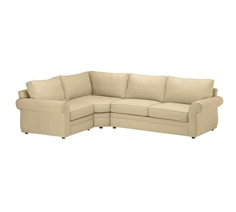 pearce sectional pearce upholstered 3 piece sectional performance