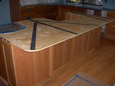 Granite Countertop Overhang Support by Can I Support A Granite Countertop Overhang With Embedded