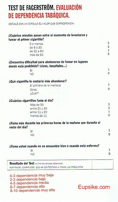test di fagerstr m terapia sustitutiva con nicotina tsn eupsike weblog