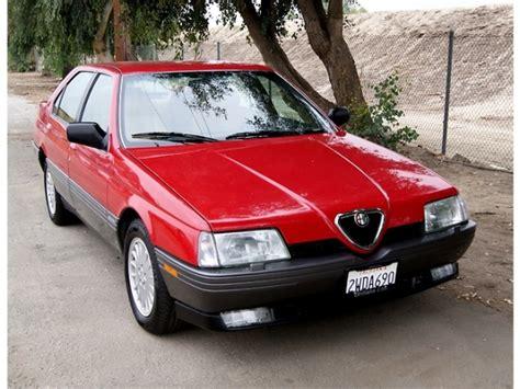 Alfa Romeo 164l by 20 Years 1991 Alfa Romeo 164l Bring A Trailer
