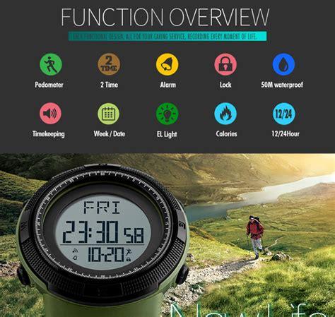 Best Jam Tangan Pria Digital Sporty Skmei Casio Digital Led Analo skmei jam tangan digital sporty pria 1295 black
