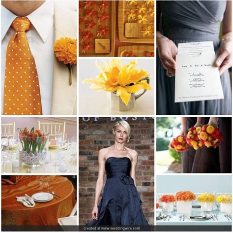 wedding colors weddingbee what colors would look great for a fall wedding weddingbee