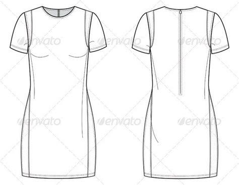 fashion illustration flat drawing flat fashion sketches for dress with insets fashion sketches and logos
