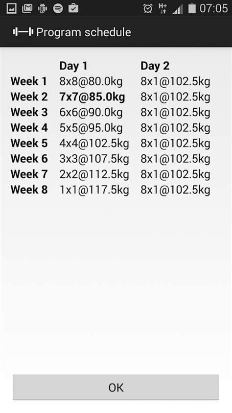 4 week bench press program hirvi s bench press program android apps on google play