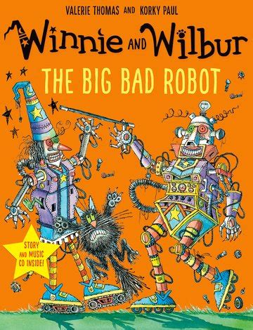 winnie and wilbur the big bad robot with audio cd oxford university press