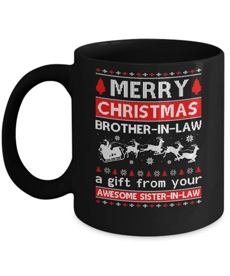 merry christmas brother  law  gift   sister  law sweater teecenturycom