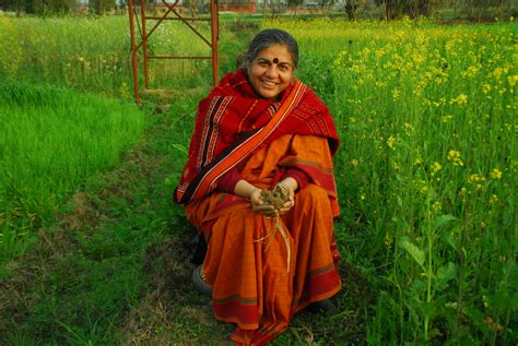 At The Natural Capital Center Dr Vandana Shiva Seed