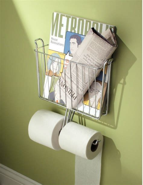 toilet paper rack 18 space saving ideas for your bathroom living in a shoebox