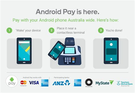 android pay app android pay says g day australia android authority