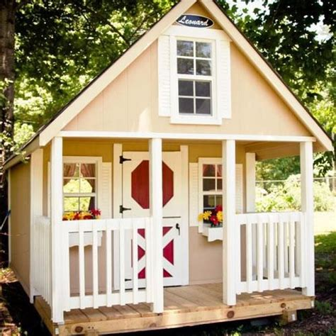 Childrens Wooden Sheds by Children S Wooden Playhouses Forts Leonard Buildings