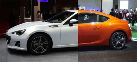 Lu Depan Toyota Ft86 perbedaan toyota ft 86 dengan subaru brz bursa otomotif