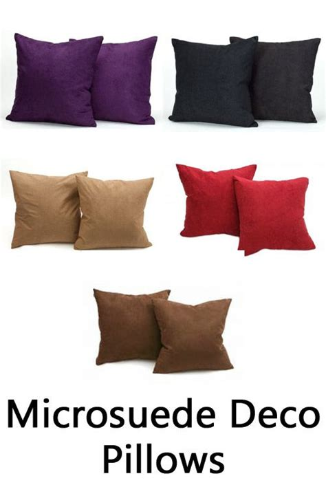 How To Clean Microsuede Cushions by 17 Best Images About Pillows By Fill Type On