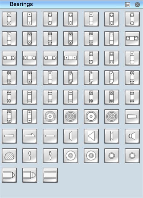 mechanical drawing symbols