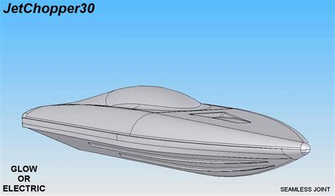 rc boat plans deep v jetchopper30 mono deep v hull frp rc groups
