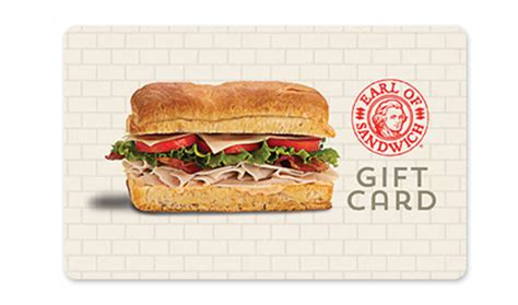 Earls Gift Card Check Balance - earl of sandwich buy gift cards