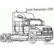 Coloriages  Camions
