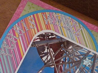scrapbook layout ferris wheel paper ice ferris wheel elitch s scrapbook layout cqc130