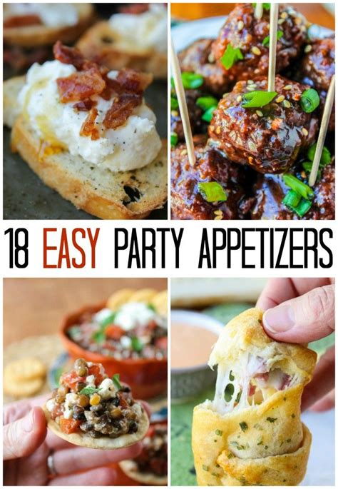 18 easy appetizer ideas these are all easy to do last