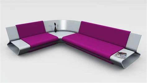 sleek sofa sets for small flats sleek shelved seating slim sofa by stephane perruchon