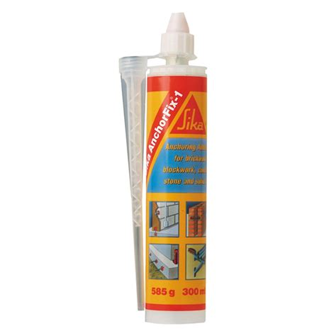 Sika Anchorfix2 Fast Curing Anchoring Adhesive 1 sika anchorfix 1 adhesive 300ml bunnings warehouse