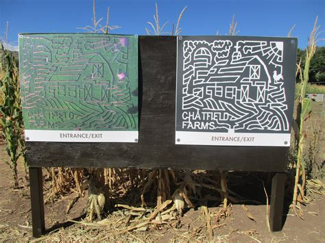 Chatfield Botanic Gardens Corn Maze Corn Maze Go Inside The Denver Botanic Garden S Chatfield Farm Corn Maze Denver7