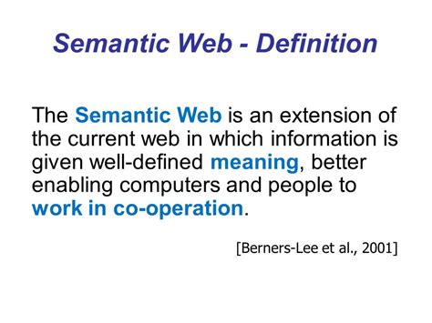 Well Outlined Meaning by E Learning Technologies On The Semantic Web Ppt