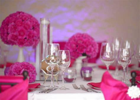 Hochzeitsdeko Magenta friedmann wedding russische hochzeitsdekoration