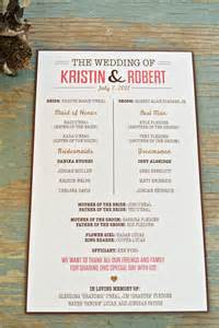 wedding program designs creative wedding programs 21st bridal world wedding