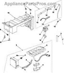 samsung da97 00258c icemaker assembly appliancepartspros com