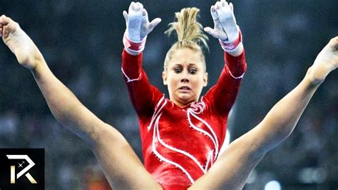 shawn johnson gymnastics wardrobe malfunctions 10 disturbing scandals at the olympic games youtube