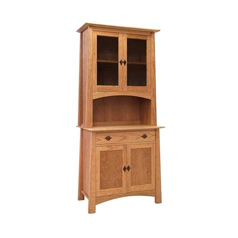 small china cabinet hutch small cherry moon china cabinet 38 vermont woods studios