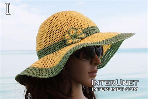 Summer Hat crochet summer hat interunet