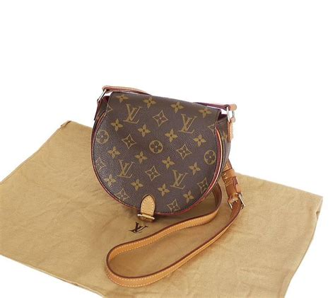 louis vuitton monogram tambourine cross body bag  stdibs