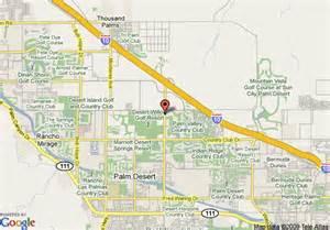 map of palm desert california map of residence inn palm desert palm desert