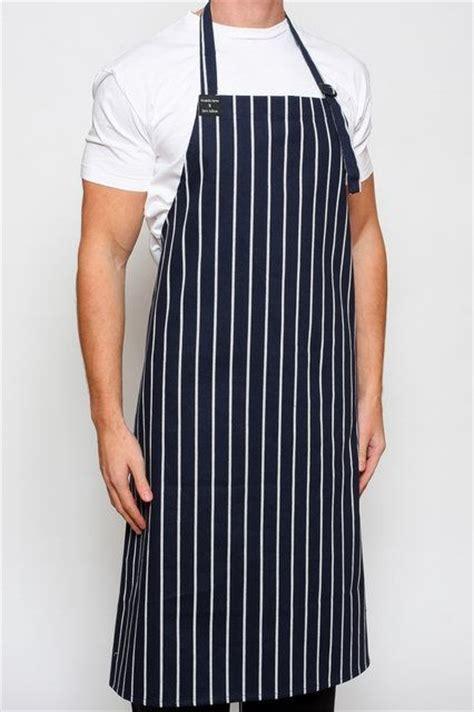 apron hitam chef aprons striped bib clothes top chef uniforms
