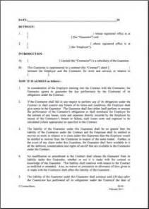 Parental Agreement Template maintenance agreement template microsoft word templates