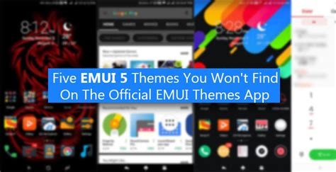 emui latest themes 5 emui 5 themes you won t find on the official emui themes