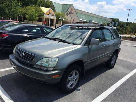 lexus rx 2002 2002 lexus rx300 base sport utility 4 door 3 0l