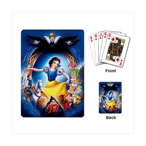 White Stuff Gift Card - disney snow white playing cards stars on stuff